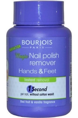 Bourjois Magic Nail Polish Remover 75ml Hands and Feet. 1 Second per Nail