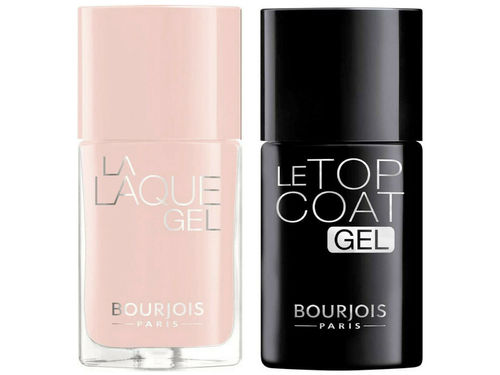 Bourjois Le Duo Gel Nail Polish & Clear Top Coat 02 Nude