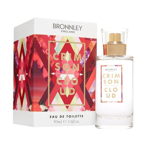 Bronnley Eclectic Elements Collection Crimson Cloud 50ml Eau de Toilette Spray